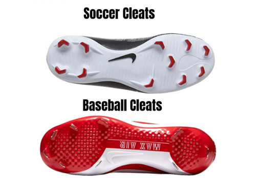 Are Baseball & Soccer Cleats the Same