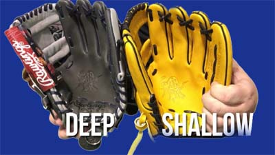 Baseball Glove Pocket Types