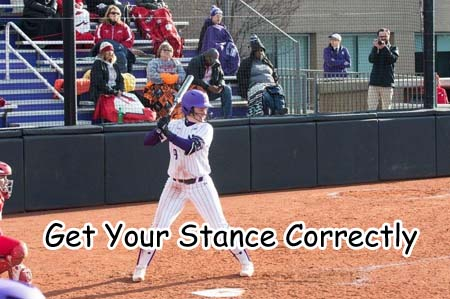 Get Your Stance Correctly for perfect swing