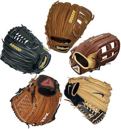 High School Baseball Glove Size