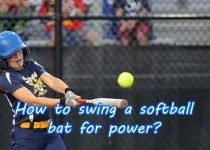 How to swing a softball bat for power