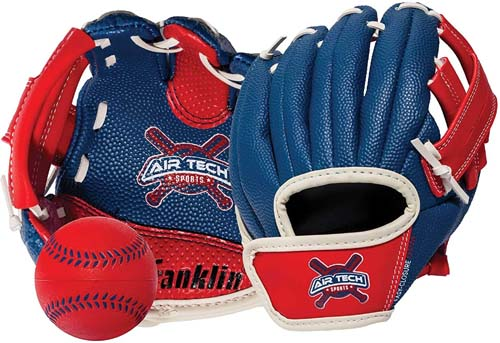 Franklin Sports Air Tech Adapt Series 8.5 inch Teeball Glove for 4 Year Old