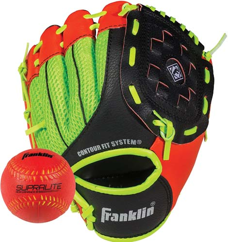 Franklin Sports Teeball Glove - Left and Right Handed Youth Fielding Glove