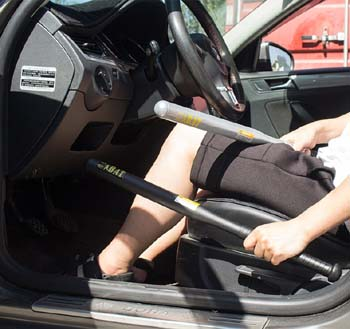 Is it illegal to carry a baseball bat in your car
