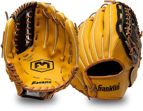 Franklin Sports Baseball and Softball Glove - Field Master