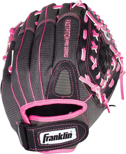 Franklin Sports Softball Glove - Left and Right Handed Softball Fielding Glove - Windmill Fastpitch Pro Series - Adult and Youth Fielding Glove - 11.0 and 12.0 Inches