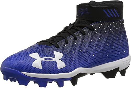 Under Armour Navy Blue Harper 2 Jr. Rm Youth Baseball Cleats