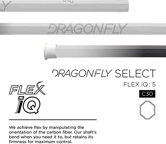 Epoch Dragonfly Select Lacrosse Shaft for Attack